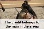 lyndon farrington believes that credit belongs to peolpe in the arena